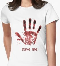 save me Womens Fitted T-Shirt