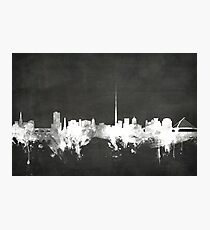 Dublin Ireland Skyline Photographic Print