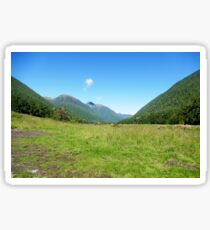 Lush Green Land Sticker