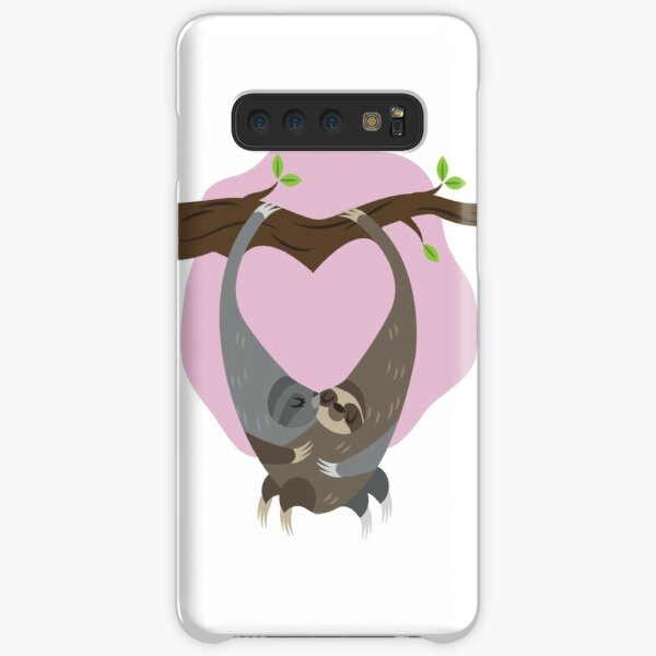 Fuzz and Kisses: Sloths Samsung Galaxy Snap Case