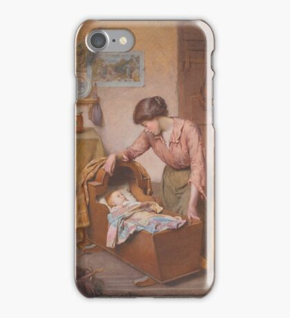 Charles Edward Wilson  TWIXT SLEEP AND WAKING iPhone Case/Skin