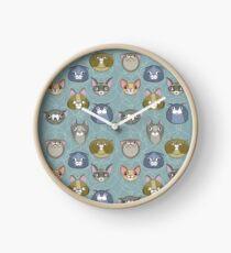 Kitty Cattern Clock