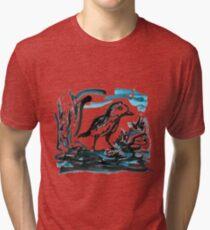 Blue Bird Tri-blend T-Shirt
