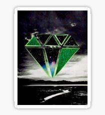 Green Diamond Sticker