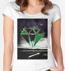 Green Diamond Women's Fitted Scoop T-Shirt