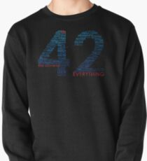 Life, The Universe, and Everything- Hitchhiker's Guide to the Galaxy Pullover