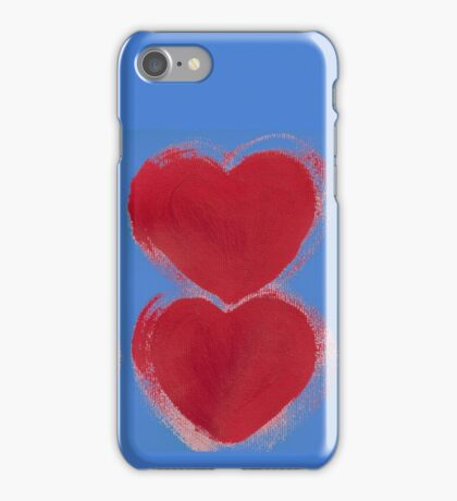 Painted Hearts iPhone Case/Skin