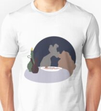 Lady and the tramp Unisex T-Shirt