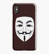 Guy Fawkes iPhone Case/Skin