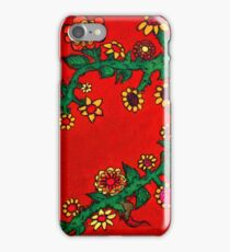 Flowerchild at heart iPhone Case/Skin