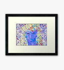 Electric Reality Framed Print
