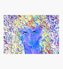 Electric Reality Photographic Print