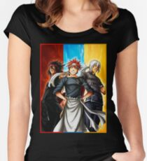 Food Wars - Shokugeki no Soma Women's Fitted Scoop T-Shirt