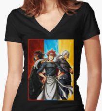 Food Wars - Shokugeki no Soma Women's Fitted V-Neck T-Shirt