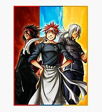 Food Wars - Shokugeki no Soma Photographic Print