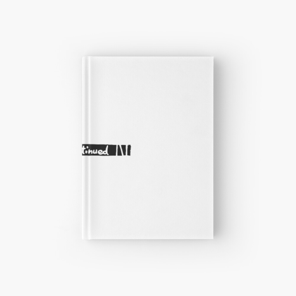 To Be Continued Arrow Hardcover Journal By Thomasq Redbubble