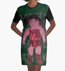Fairy Wrestle Lady by Bobby Graphic T-Shirt Dress