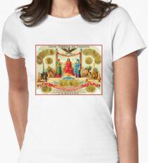 CUBAN CIGAR; Vintage Advertising Awards Print Women's Fitted T-Shirt