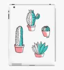 Colorful cactus iPad Case/Skin