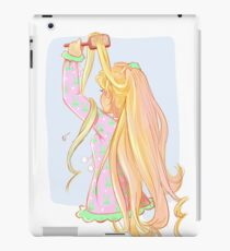 Blond Hair iPad Case/Skin