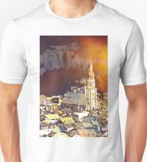 Heidelberg Church, Germany.  Watercolor painting T-Shirt