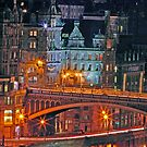 """Olde World Edinburgh City"" by Chris Clark"