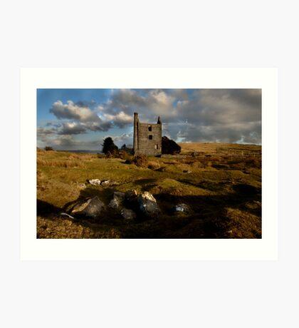 Abandoned Mine Building - Bodmin Moor Art Print