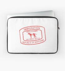 Republic of Newtown - 2014: Red Laptop Sleeve