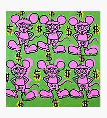 Keith Haring - Andy Mouse Photographic Print