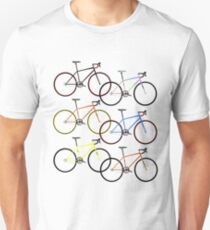 Road Bike Multi Coloured T-Shirt