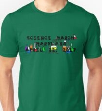 Science March Maryland T-Shirt