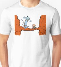 A Freelancer & his Lying Cat Unisex T-Shirt