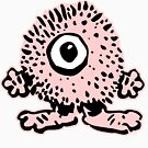 Cute Cartoon Pink Monster T-Shirt by Cheerful Madness!! by cheerfulmadness