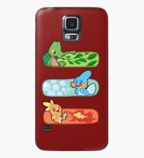 Pokemon / Hoenn Starters - Omega Ruby Case/Skin for Samsung Galaxy