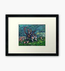 Critter Attack Framed Print