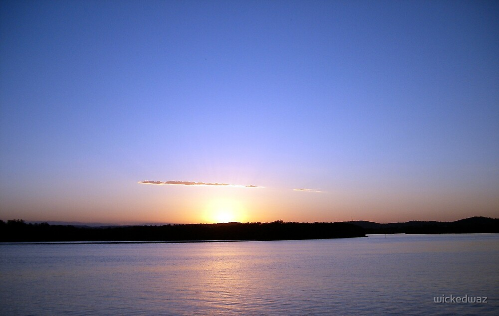 Maroochy Sunset by wickedwaz