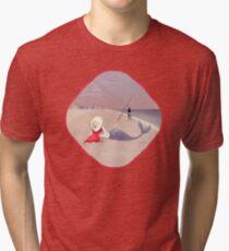 Keep Fishing Tri-blend T-Shirt