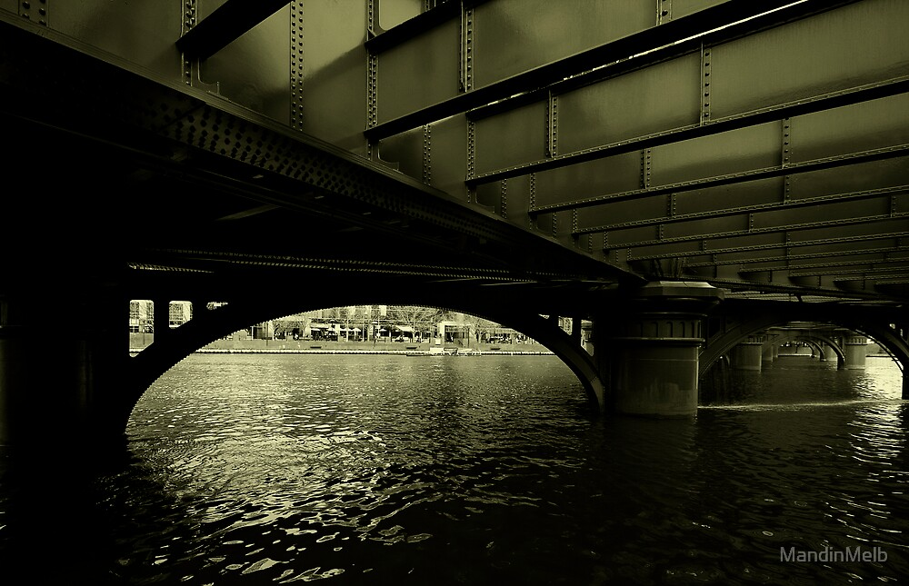 Under the Bridge by MandinMelb