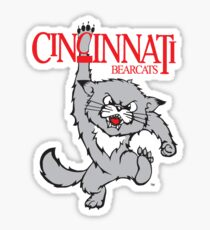 Vintage Bearcat Sticker