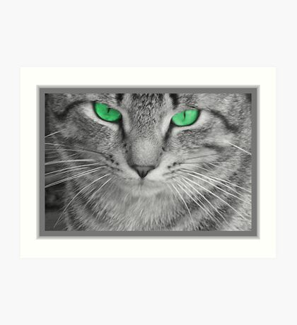 Envious Eyes Art Print