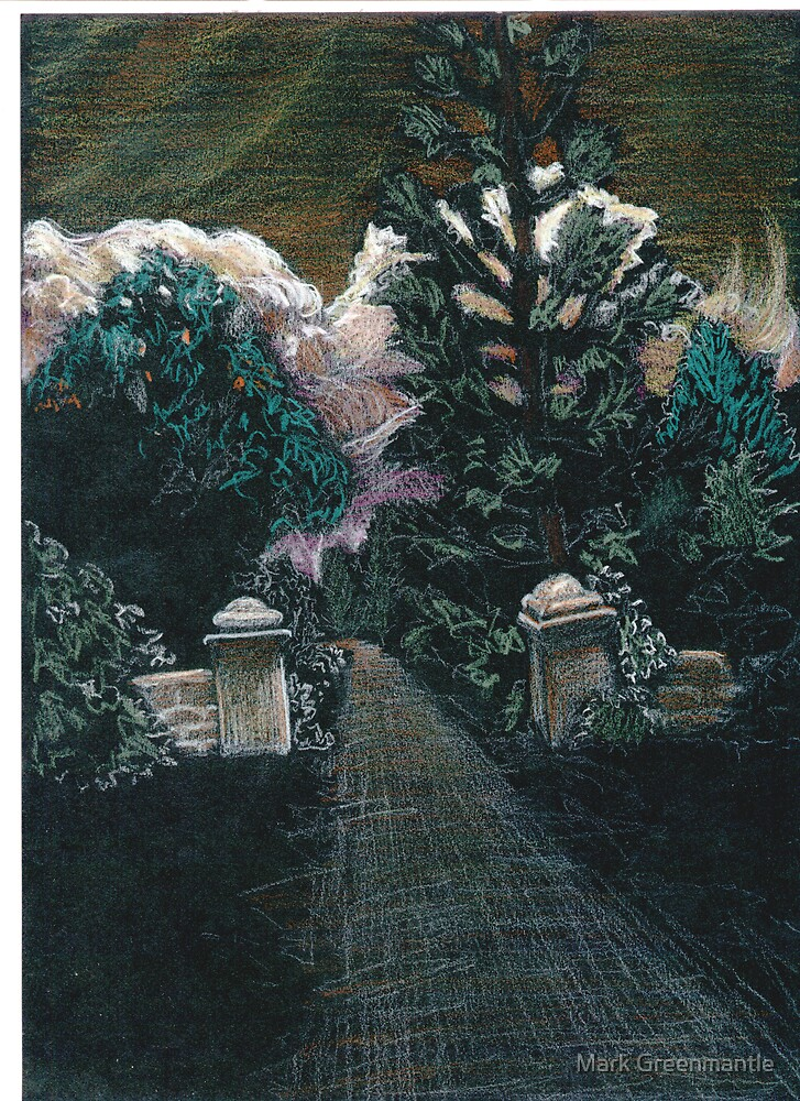 Cemetery Gates by Mark Greenmantle