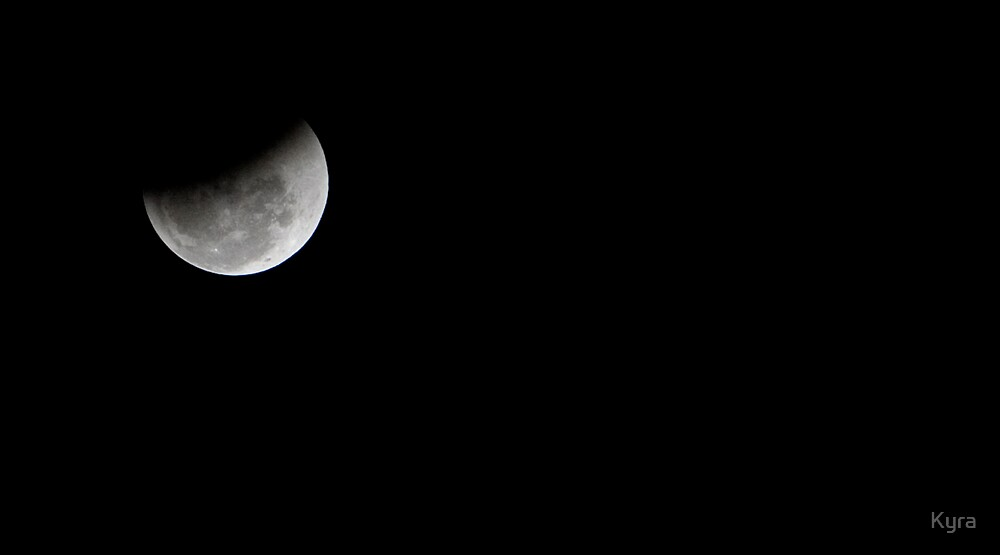 Half eclipsed by Kyra  Webb
