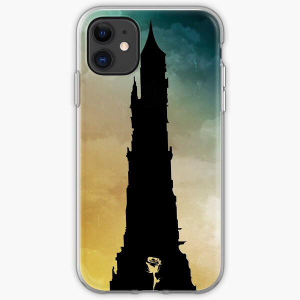 Dark Tower and Rose iPhone Soft Case