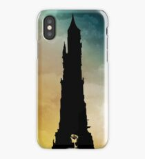Dark Tower and Rose iPhone Case/Skin