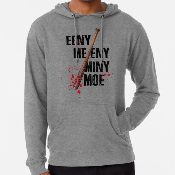 The Walking Dead - EENY MEENY MINY MOE  Lightweight Hoodie