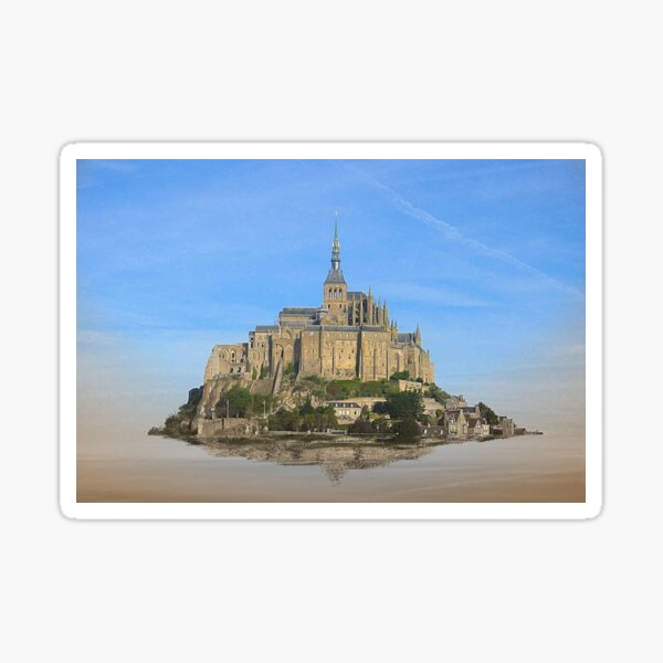 Castle in the air Sticker