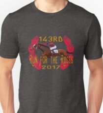 143rd Run for the Roses - Horse Racing Unisex T-Shirt