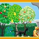 Apples, oranges, pears, cats by goanna