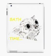 l' heure du bain, Bath Time iPad Case/Skin