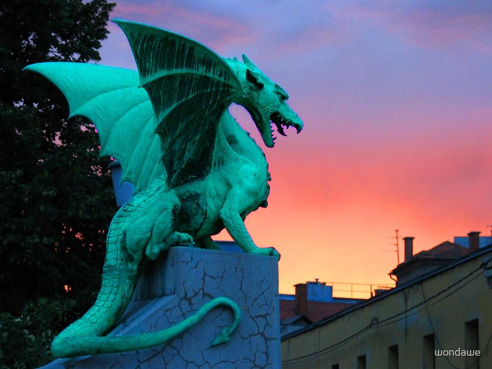 Dragon Storm by wondawe